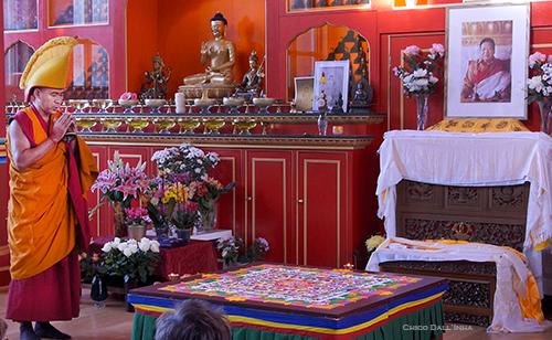 Blessing the Mandala