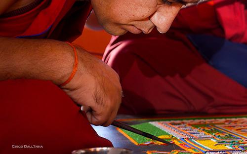 Mandala, Tashi Lhunpo Monk